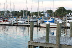 Un puerto deportivo de la Florida Imagen de archivo