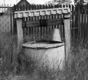 Un puits photo libre de droits