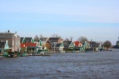 Villaggio di Zaanse Schans Fotografie Stock