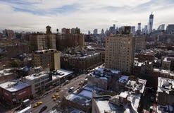 Via di Greenwich a New York City Immagine Stock Libera da Diritti