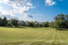 Un punto di vista di Newtown Grant nella contea di Bucks, PA fotografia stock