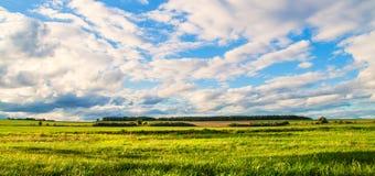 Un punto di vista di un paese ceco Immagini Stock