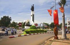 Un quadrato centrale nel Vietnam Immagine Stock Libera da Diritti