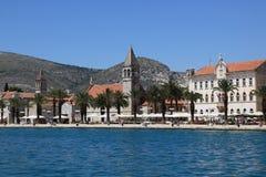 Un quay di Trogir Immagini Stock Libere da Diritti