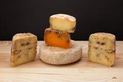Un queso Imagen de archivo libre de regalías