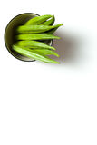 Un quingombó en un cuenco Foto de archivo