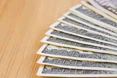 Un résumé de cents dollars Images stock