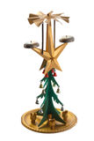 Un rétro arbre de Noël images stock