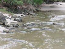 Un río en Trindade - Paraty RJ Fotografía de archivo