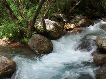 Un río italiano Fotos de archivo libres de regalías