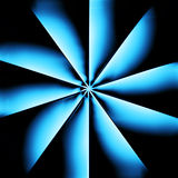 Un radiador azul ilustración del vector