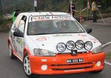 Un raduno di Peugeot 106 di Sanremo Fotografia Stock Libera da Diritti