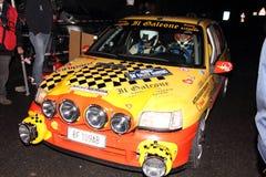 Un raduno di Renault Clio di Sanremo Fotografia Stock