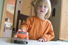un ragazzo di 3 anni Immagine Stock Libera da Diritti