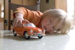 un ragazzo di 3 anni Fotografia Stock