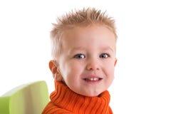 Un ragazzo di due anni Fotografia Stock