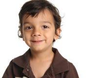 Un ragazzo di tre anni immagine stock