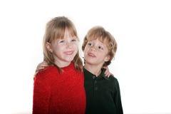 Un ragazzo e la sua ragazza Immagine Stock Libera da Diritti