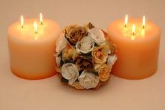 Un ramo de rosas Imágenes de archivo libres de regalías