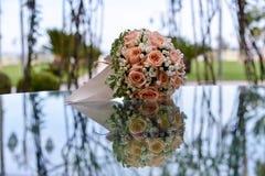 Un ramo de rosas Foto de archivo libre de regalías