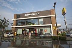 Un ramo del ` s di McDonald al parco di Paseo fotografia stock