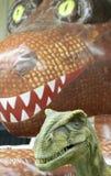 Un rapace e un pallone Rex al pianeta di T-Rex, centro dell'Expo di Tucson Immagini Stock Libere da Diritti