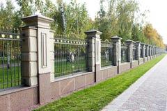 Un recinto di pietra con le punte Immagine Stock Libera da Diritti