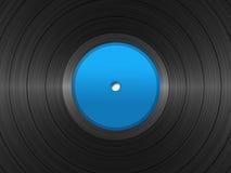 Un record di 33 giri/min. Fotografia Stock Libera da Diritti