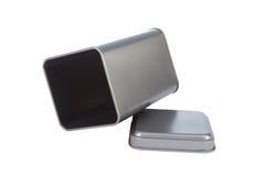 Un rectángulo de aluminio Imágenes de archivo libres de regalías