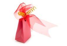 Un rectángulo de regalo de lujo Fotos de archivo libres de regalías