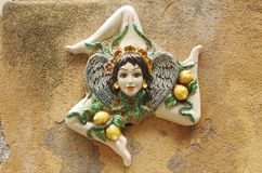 Medusa de Sicilia Imagen de archivo libre de regalías