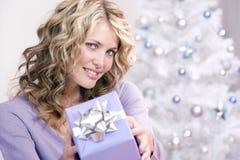 Un regalo di natale per voi! Fotografia Stock