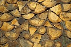 Un registro de la madera Fotografía de archivo