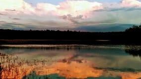 ¡Un relevo de colores en el cielo!!! Imagenes de archivo