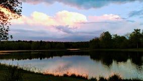 ¡Un relevo de colores en el cielo!!! Fotos de archivo