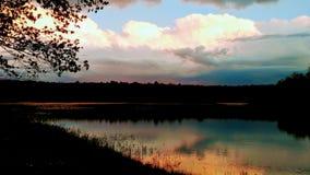 ¡Un relevo de colores en el cielo!!! Foto de archivo