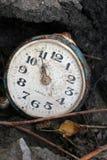 Un reloj antiguo viejo Foto de archivo