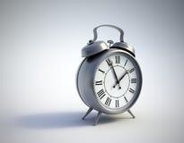 Un reloj de alarma clásico Imagen de archivo libre de regalías