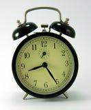 Un reloj de alarma mecánico Imágenes de archivo libres de regalías