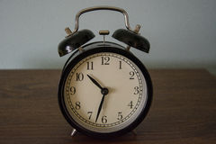 Un reloj del vintage Imagen de archivo