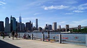 Un remblai à New York Photographie stock libre de droits
