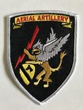 Un remiendo que conmemora la división de artillería aérea de la primera caballería fotografía de archivo