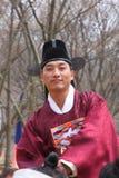 Un rendement du mariage coréen traditionnel Photos libres de droits