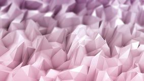 Un rendu 3d coloré de bas poly fond illustration de vecteur