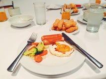 Un repas Images libres de droits