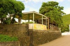 Un restaurant génial dans les Caraïbe Images libres de droits