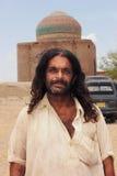 Un retrato darwaish de Malang en el cementerio de Makli Fotografía de archivo