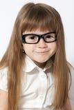 Un retrato de la muchacha sonriente Imagenes de archivo
