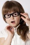 Un retrato de la muchacha sorprendente Foto de archivo libre de regalías