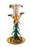 Un retro albero di Natale Immagini Stock